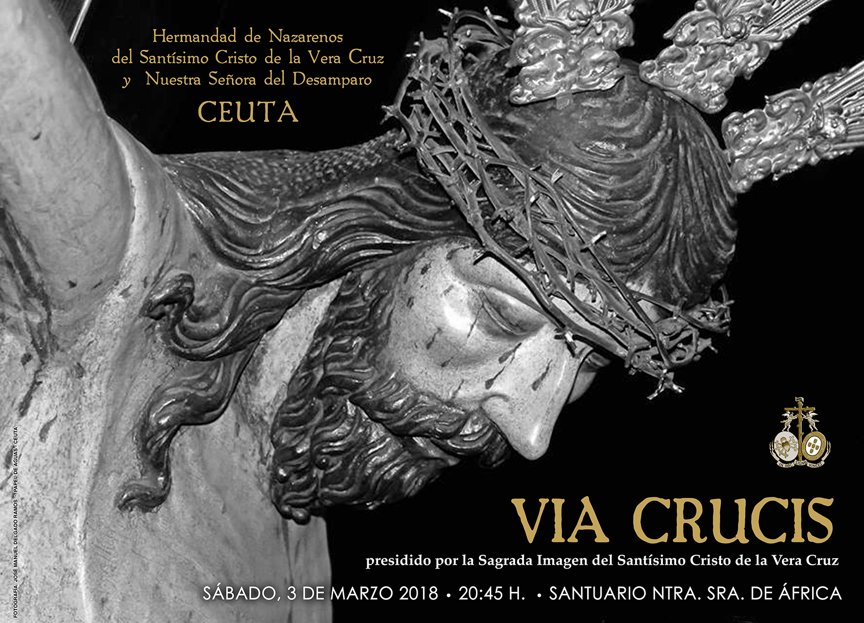Cartel Vía Crucis 2018